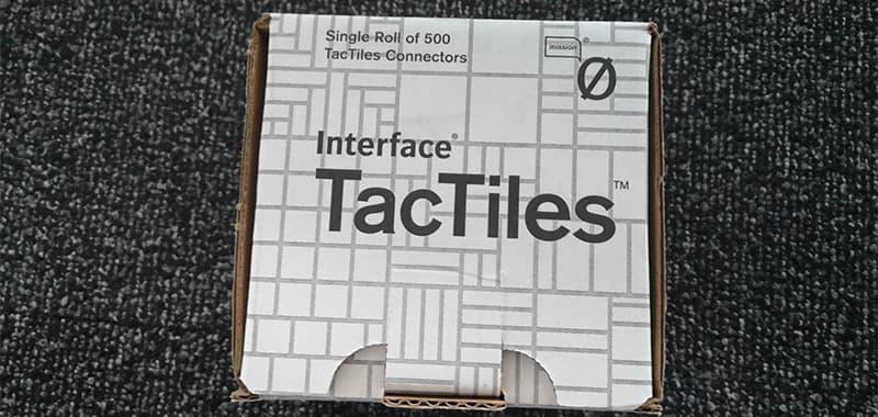 Tapijttegels Leggen Tactiles Sparo